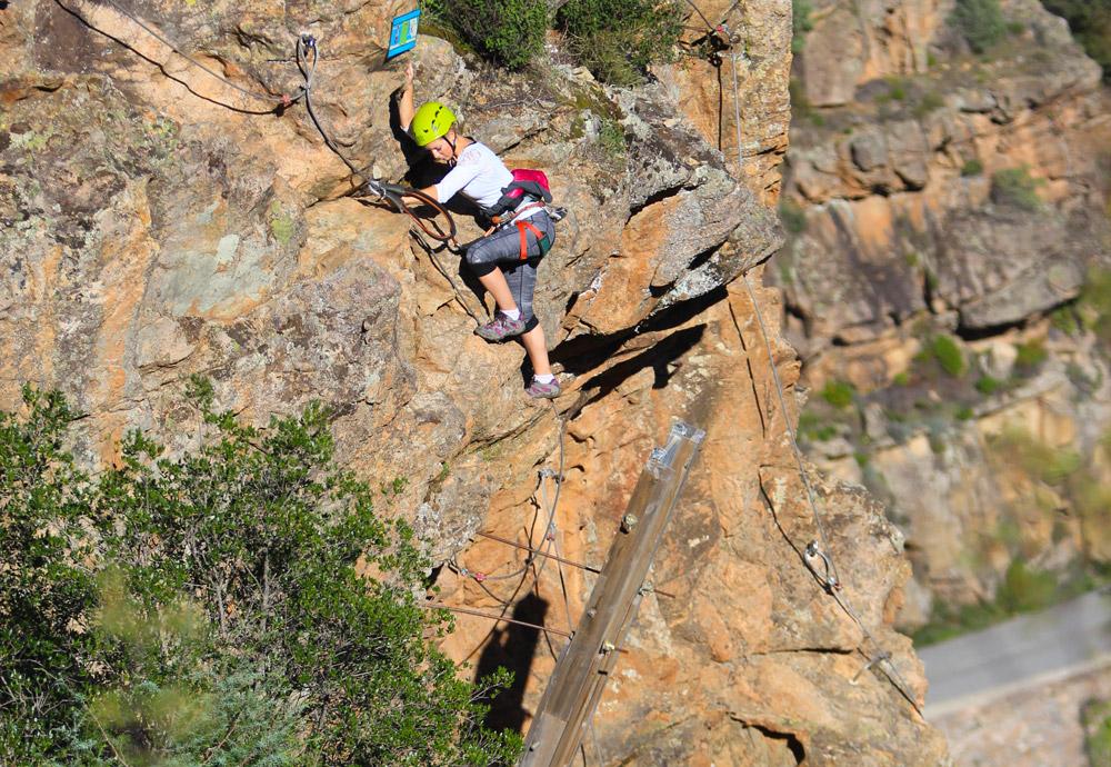 corsica montagne corse via ferrata sport loisir