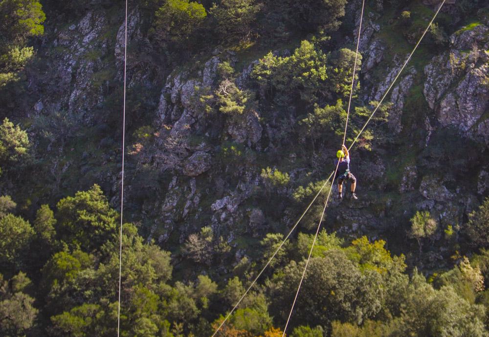 tyrolienne corse corsica asco montagne